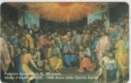 SCHEDA TELEFONICA NUOVA VATICANO SCV44 PALAZZO APOSTOLICO - Vaticano