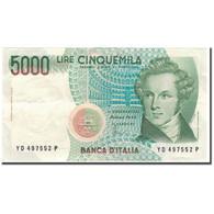 Billet, Italie, 5000 Lire, 1985-01-04, KM:111c, SUP - [ 2] 1946-… : Repubblica