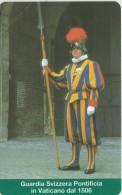 SCHEDA TELEFONICA NUOVA VATICANO SCV23 GUIARDIA SVIZZERA - Vaticano