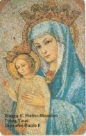 SCHEDA TELEFONICA NUOVA VATICANO SCV27 PIAZZA S.PIETRO MOSAICO - Vaticano