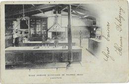 Ecole Primaire Supérieure De Fournes (Nord) - Le Laboratoire En 1904 - Carte Dos Simple - Turkey