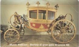 SCHEDA TELEFONICA NUOVA VATICANO SCV29 MUSEI VATICANI BERLINA - Vaticaanstad