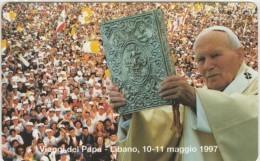 SCHEDA TELEFONICA NUOVA VATICANO SCV36 VIAGGI DEL PAPA , LIBANO - Vaticaanstad