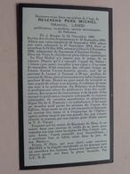 DP Révérend Père MICHEL ( Marcel LAMS ) Bruges 24 Nov 1892 - 8 Nov 1956 > Missionnaire ( Zie Foto's Voor Detail ) ! - Décès