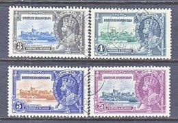 BRITISH  HONDURAS  108-11  (o)  SILVER  JUBILEE - British Honduras (...-1970)