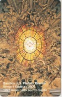 SCHEDA TELEFONICA NUOVA VATICANO SCV39 BASILICA S.PIETRO - Vaticaanstad