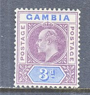 GAMBIA  32  *  Wmk. 2  1902-05  Issue - Gambia (...-1964)