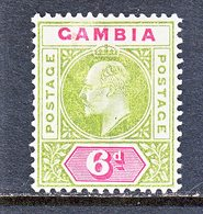 GAMBIA  34  *  Wmk. 2  1902-05  Issue - Gambia (...-1964)