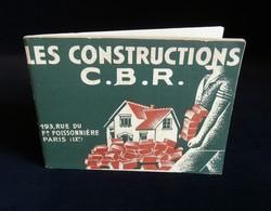 ( Architecture Construction Bâtiment ) CATALOGUE LES CONSTRUCTIONS C.B.R. PARIS 1933 - France