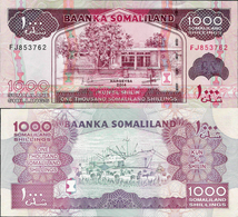 Somaliland 2014 - 1000 Shillings - Pick 20 UNC - Somalie