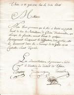 Juin 1792 - LE ROI A établi Un Contrôle De Tous Les BATAILLONS De GARDES NATIONALES - Historical Documents