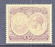 BERMUDA  58  *  Wmk. 3  1920-21  Issue - Bermudes