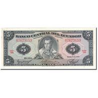 Billet, Équateur, 5 Sucres, 1975-03-14, KM:108a, NEUF - Equateur