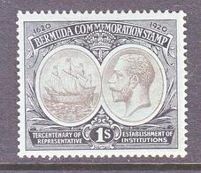 BERMUDA  60   *  Wmk. 3  1920-21  Issue - Bermudes