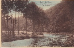 Le Herou Passerelle Sur L Ourthe Pres Du Moulin De Spitanche - Belgique