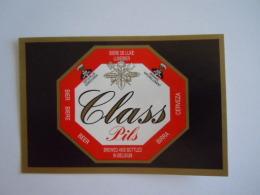 Label Etiquette Bier Bière Beer Class Pils Van Roy Wieze - Beer