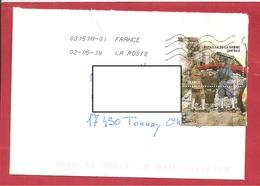 Y&T N°5075  LA ROCHELLE Vers TONNAY CHARENTE    2018 - France