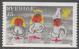 SWEDEN     SCOTT NO. 953    MNH     YEAR 1972 - Suède