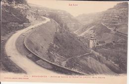CPA - 234. ROCAMADOUR - Route De Cahors Et Gorge De L'Adour Rive Droite - Rocamadour
