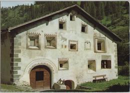 Haus Jenatsch - Bergün - Photo: C. Puorger-Jehli - GR Grisons