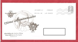 Y&T N° ANNIVERSAIRE AAESUR ROCHEFORT   Vers TONNAY CHARENTE    2018 - France