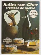 SELLES-SUR-CHER - Fromage De Chèvre (Syndicat De Défense De L'appellation D'origine...) - Selles Sur Cher