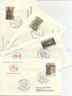 ITALIA - FDC  CAVALLINO 1996 - TESORI E MUSEI - ARTE - ANNULLI SPECIALI - 6. 1946-.. Repubblica