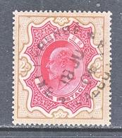 INDIA  71   (o)  STAR  Wmk.  1902-09  Issue - 1902-11 Roi Edouard VII