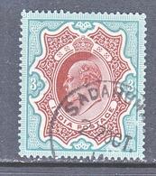 INDIA  72   (o)  STAR  Wmk.  1902-09  Issue - India (...-1947)