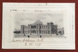 BUENOS AIRES  FACULTAD  DE DERECHO TO RAVENNA ITALY   12/10/1900 - Argentina