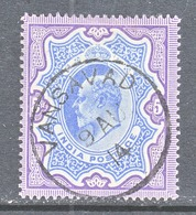 INDIA  73   (o)  STAR  Wmk.  1902-09  Issue - India (...-1947)