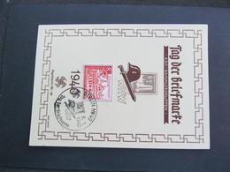 DR Nr. 734, 1940, Sonderkarte, Tag Der Briefmarke *DEL2006* - Germany