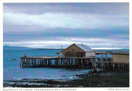 1 AK Norwegen * Ein Bootshaus Bei Vardø - Die östlichste Gemeinde Norwegens - Vardø Liegt Auf Der Insel Vardøya * - Norwegen