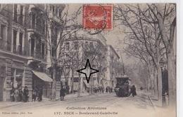 NICE  Boulevard GAMBETTA - (Tramway). - Transport Urbain - Auto, Autobus Et Tramway