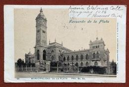 RECUERDO DE LA PLATA MUNICIPALIDAD DE LA PLATA   FROM BUENOS AIRES   TO RAVENNA ITALY   12/7/1902 - Argentina