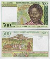 Madagascar 1994 - 500 Francs - Pick 75 UNC - Madagascar