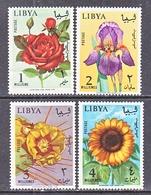 LIBYA  284-7  *  FLOWERS - Libye