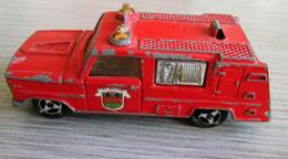 Camion De Pompier - Majorette 1/80 ème - Voitures, Camions, Bus