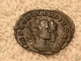 Claudius II Gothicus  (268-270) AD,   AE Antonianus  2,72 Gr.  -  (2,6 Cm)   DUBBELSLAG - SUPER!!! - 5. L'Anarchie Militaire (235 à 284)