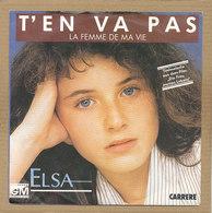 """7"""" Single, Elsa, T'en Va Pas - Disco, Pop"""