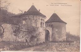 CPA - 424. CEINT D'EAU Entrée Du Château - France