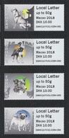 Faroe-Islands ATM Dänemark-Färöer Macao 2018 MNH ** Hunde Dogs - Färöer Inseln