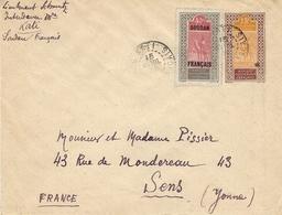 1932- Enveloppe E P 15 C + Compl. à 40 C  De KATI  Pour La France - Storia Postale