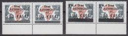 Zuid-Kasaï 1961 2w Pair (margin) ** Mnh (40995C) - Sud-Kasaï