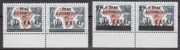 Zuid-Kasaï 1961 2w Pair (margin) ** Mnh (40995C) - South-Kasaï