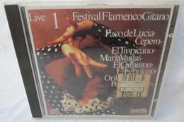"""CD """"Festival Flamenco Gitano 1"""" Live - Musik & Instrumente"""
