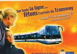 Tramway Tram Caen Transport Inauguration Ligne Tramway De L'agglomération Caennaise - Tramways