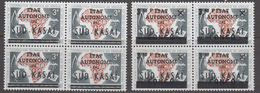 Zuid-Kasaï 1961 2w Bl V. 4 ** Mnh (40995E) - South-Kasaï