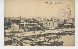 AFRIQUE - EGYPTE - PORT SAÏD - General View - Port Said