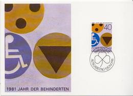 Liechtenstein Stamp On Maximum Card - Handicaps